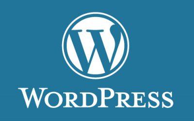 Mises à jour de sécurité wordpress