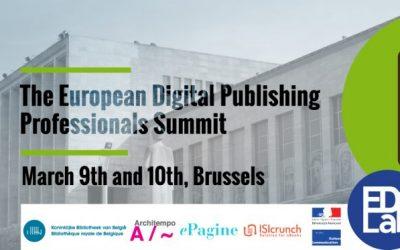 Epub Summit 09 et 10 Mars 2017 à Bruxelles