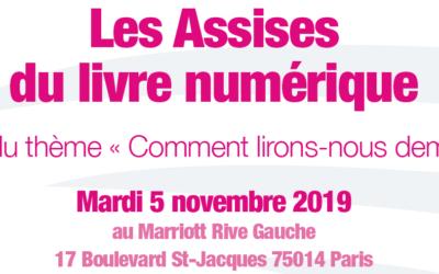 Les Assises du Livre Numérique – 05 novembre 2019